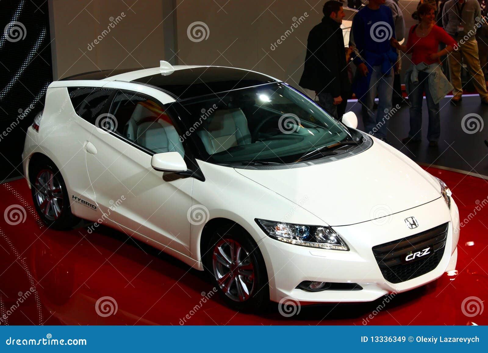 2010 coupe cr Geneva Honda hybrydowy motorowy przedstawienie z