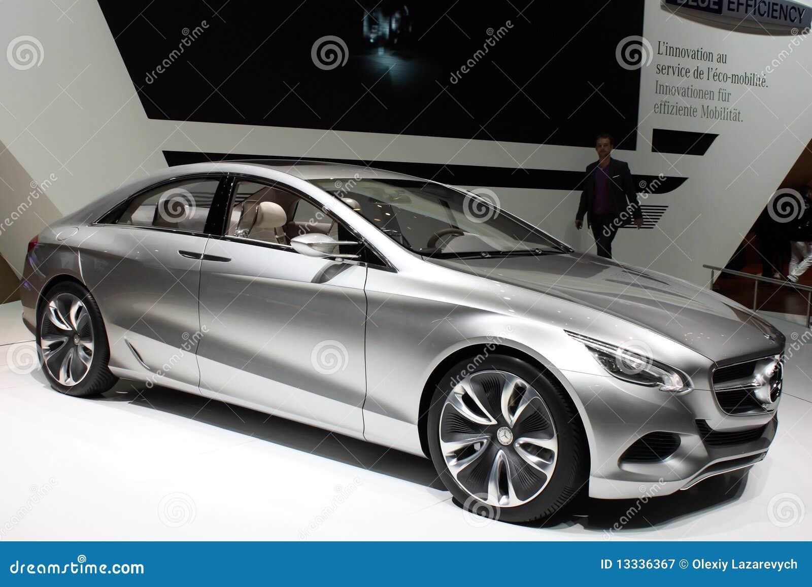 2010 f800 Geneva Mercedes motorowego przedstawienie styl