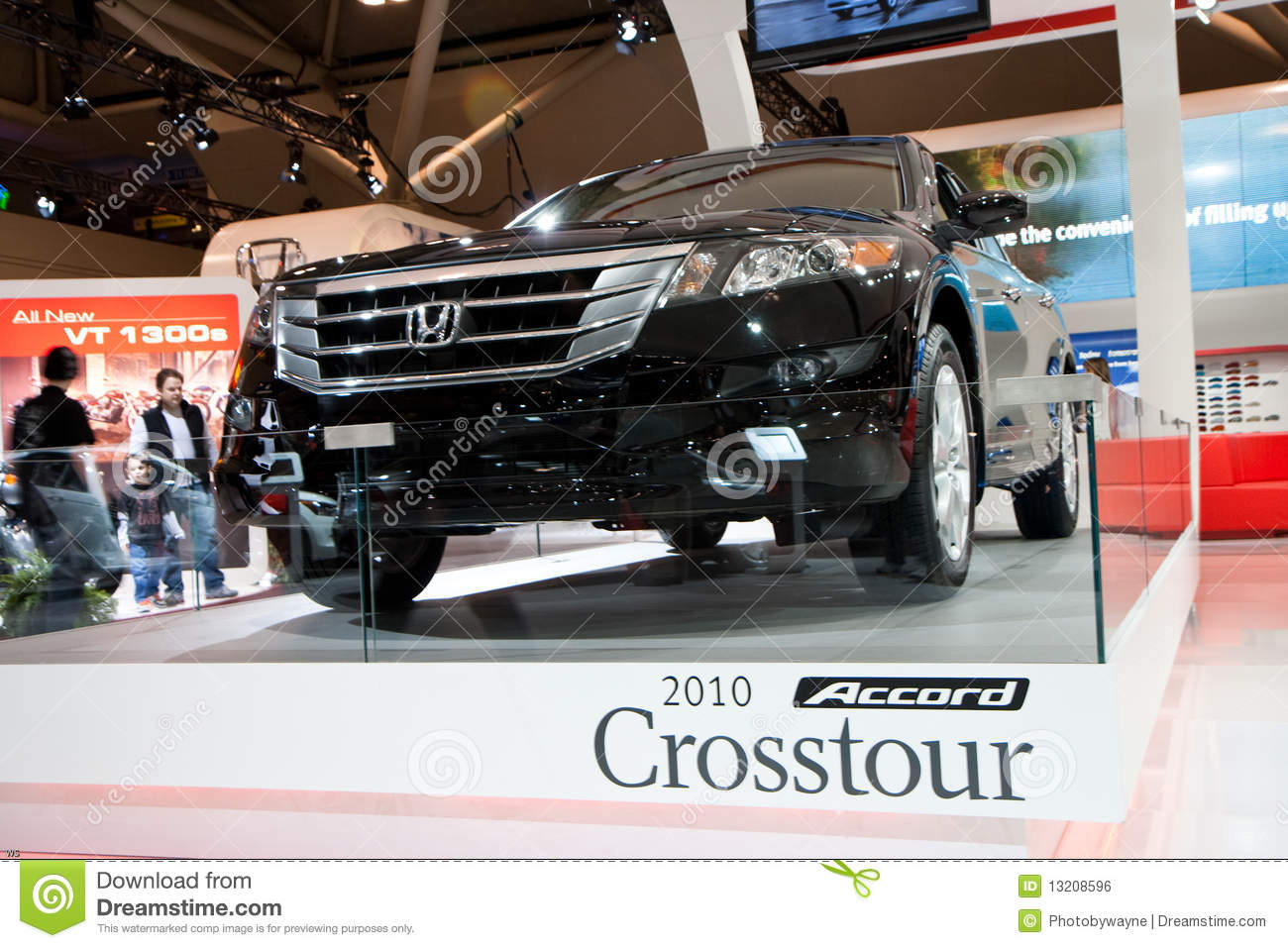 2010 Honda Accord Crosstour At The Autoshow Editorial