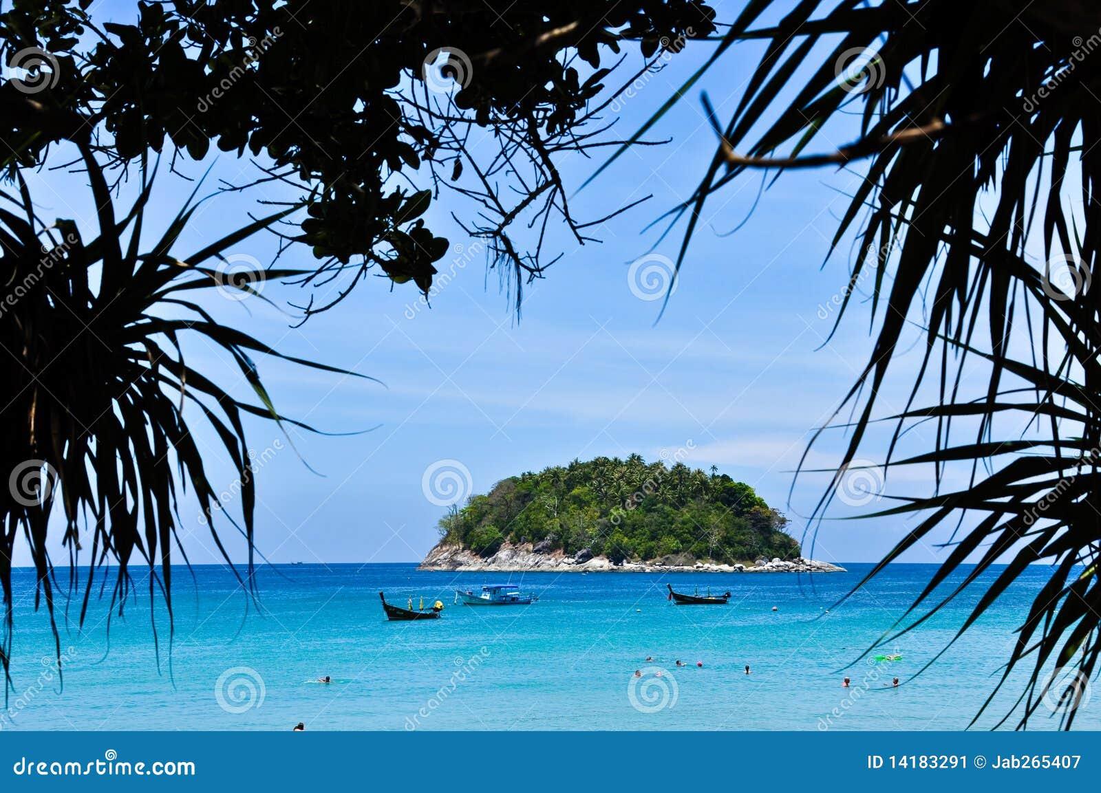 2010 plażowy Kwiecień karon Phuket Thailand