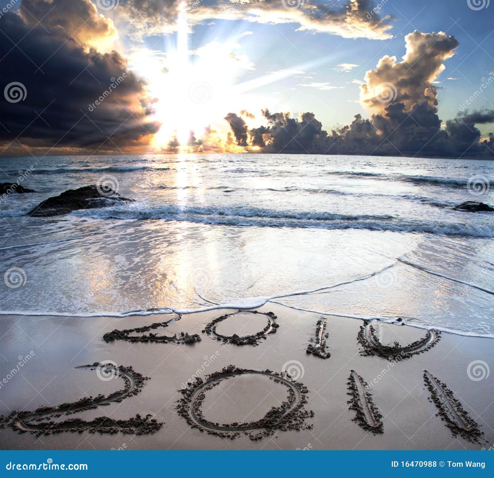 2010 tot 2011 op strand