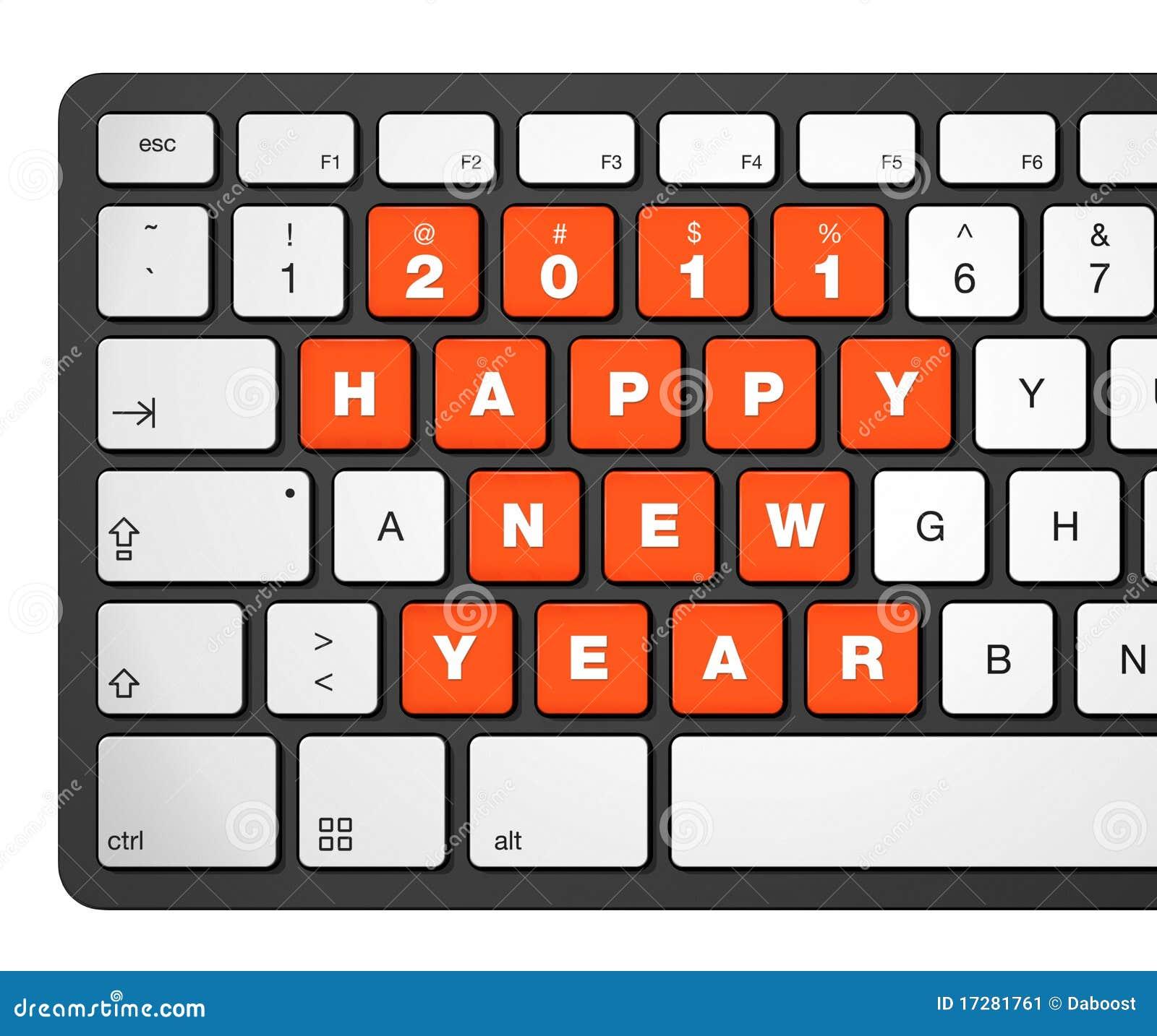 2011年计算机键盘新年度