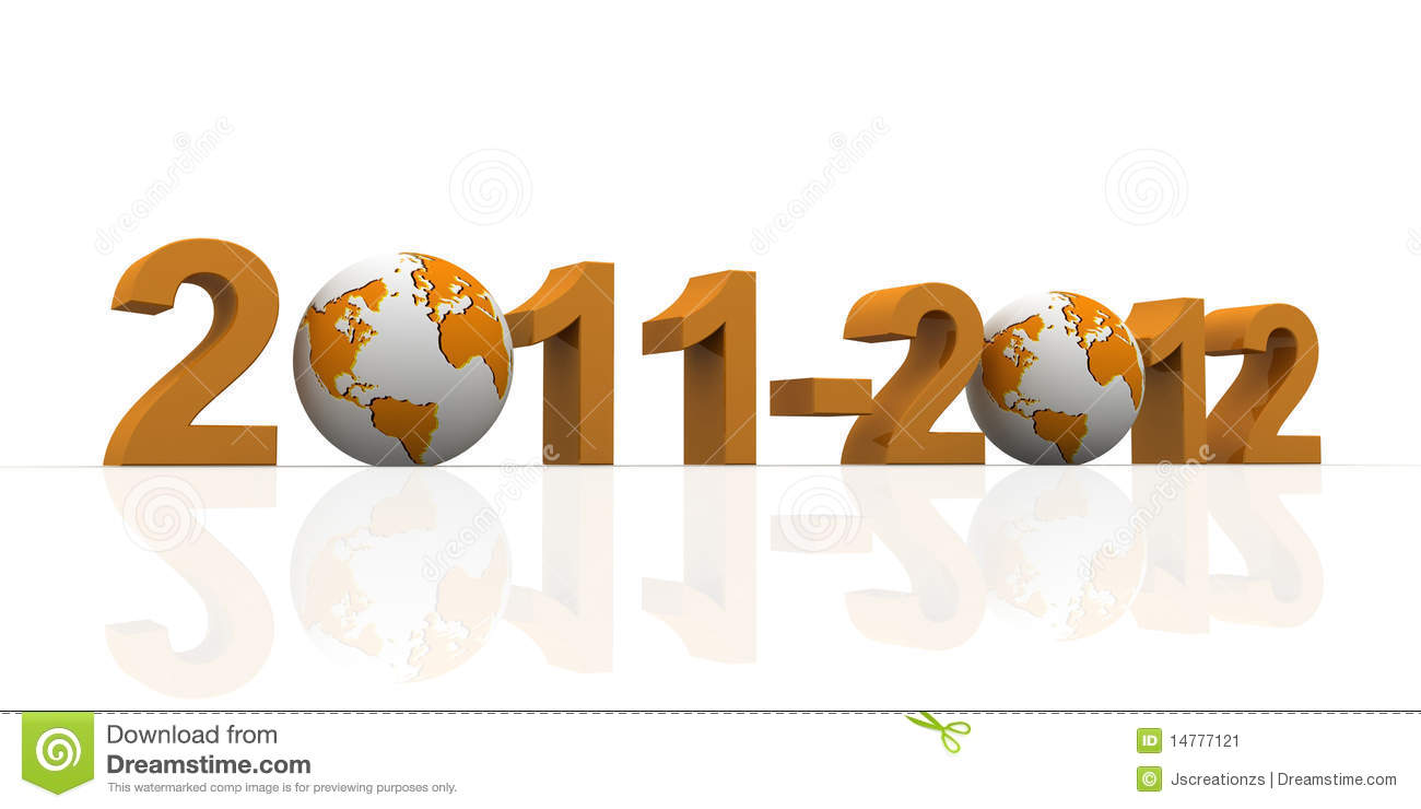 2011-2012 with earth