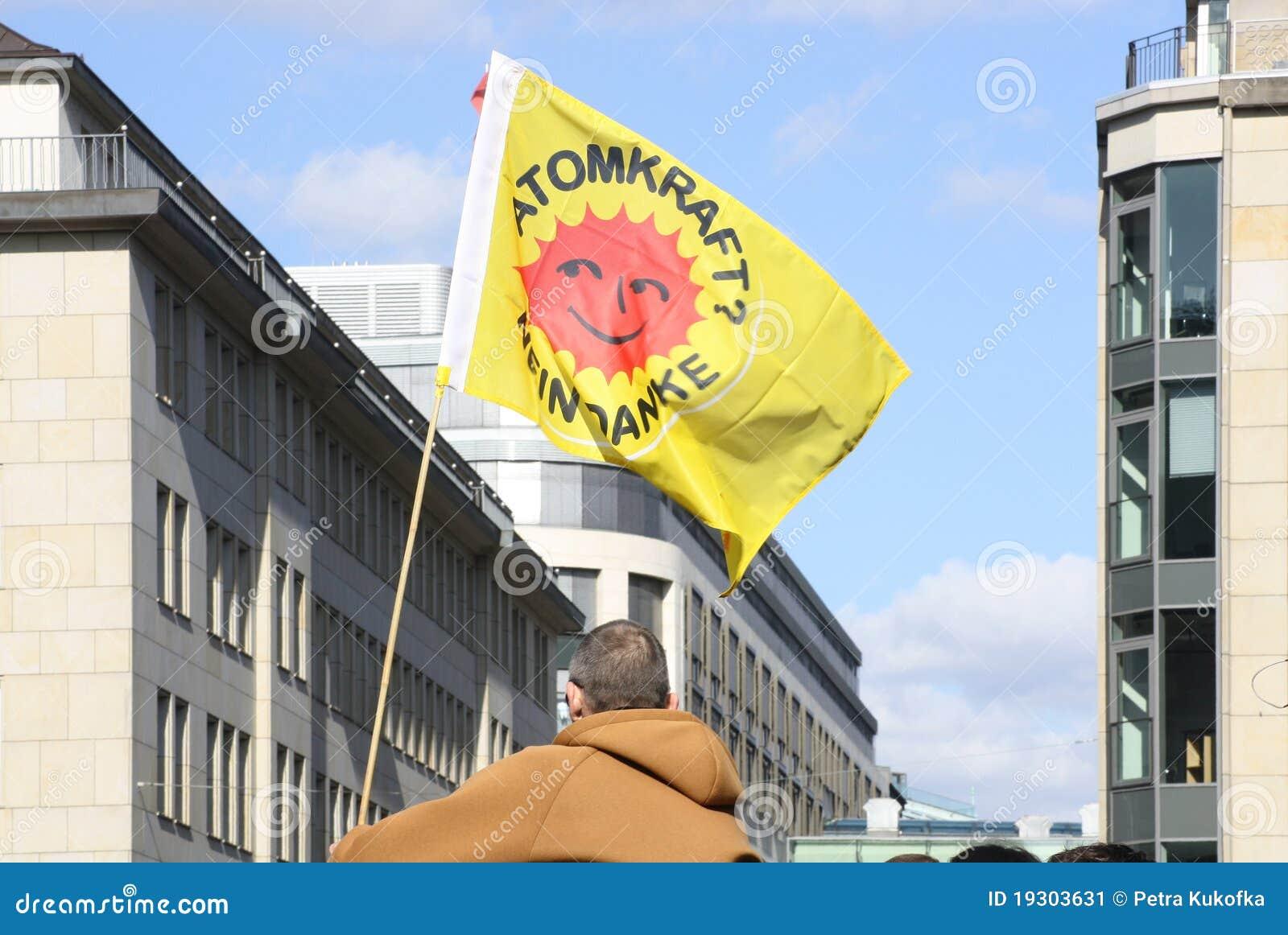 2011 antych Germany jądrowej władzy protestów