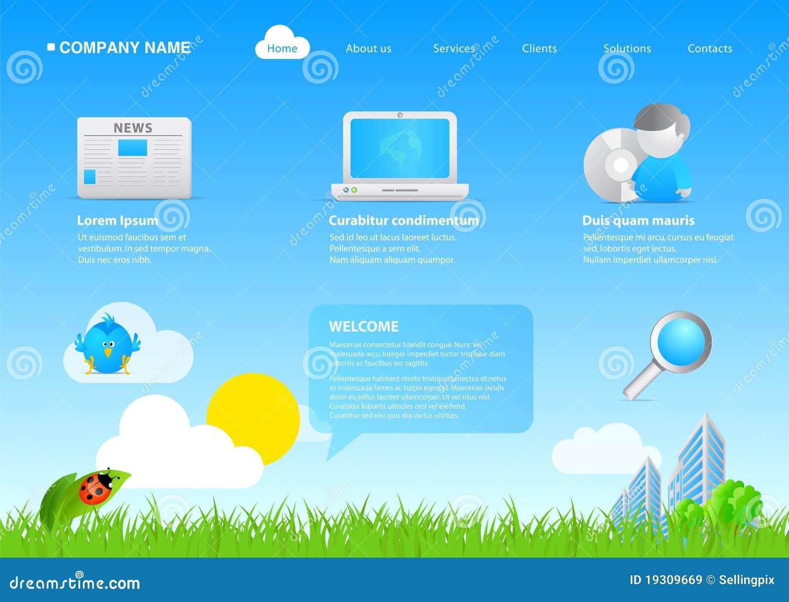 2011 asuntos cómodos/cartoo del eco moderno del Web site