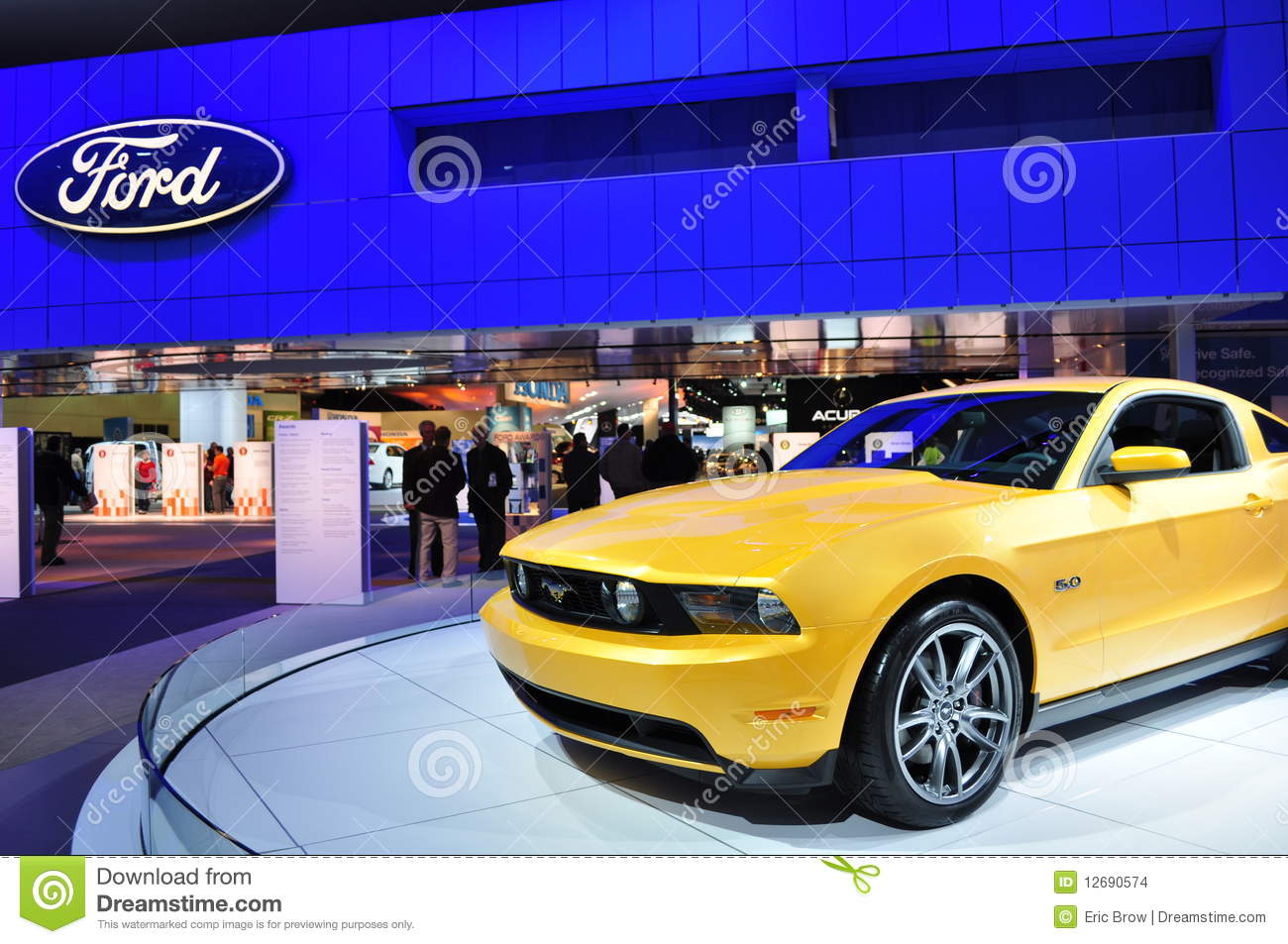 2011 ford mustang 5 0 editorial stock image image 12690574. Black Bedroom Furniture Sets. Home Design Ideas