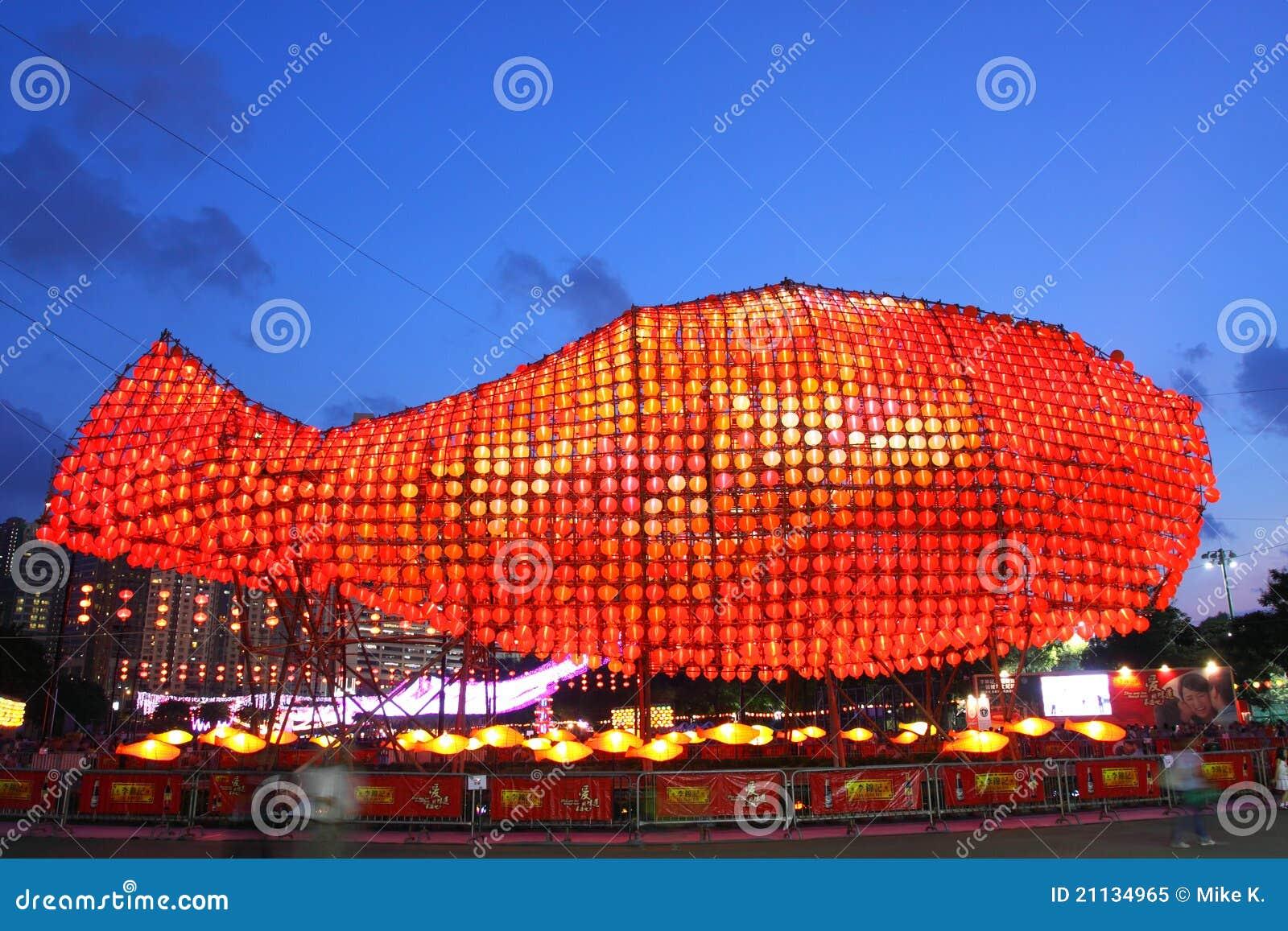 2011 jesień festiwalu Hong kong w połowie