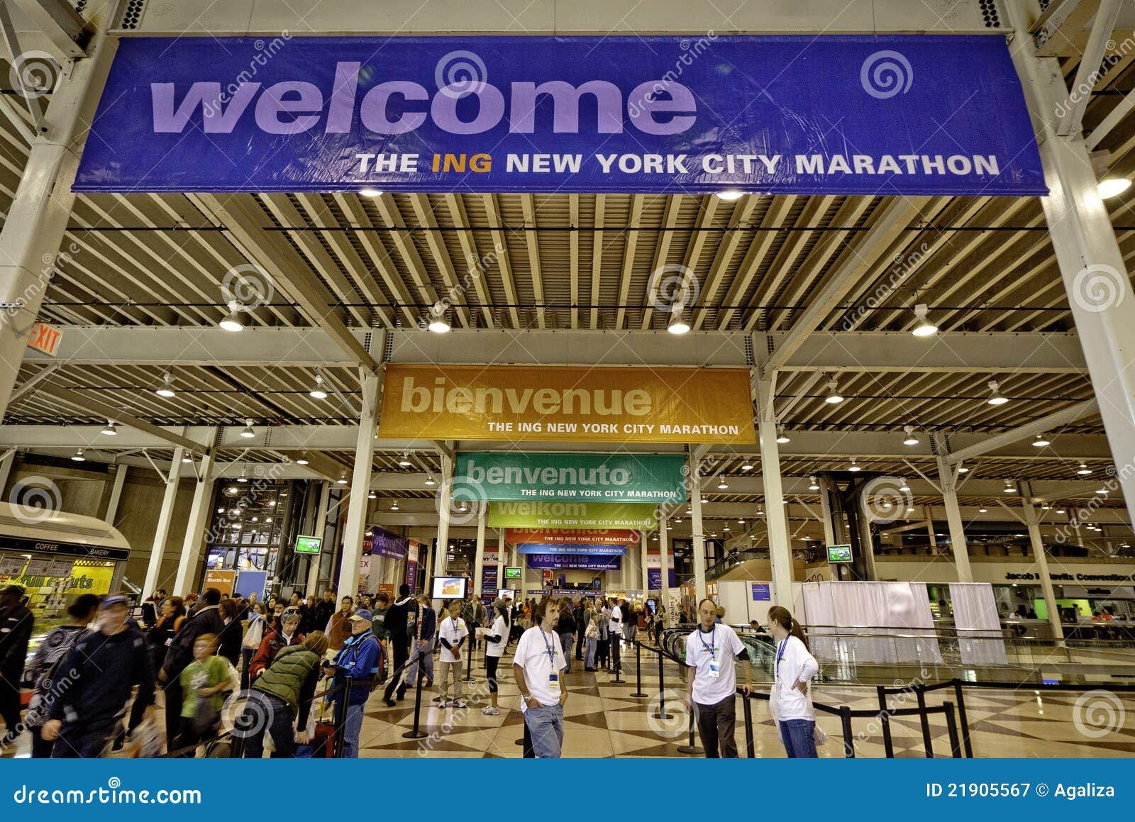 2011 New York City Marathon Expo At Javits Center