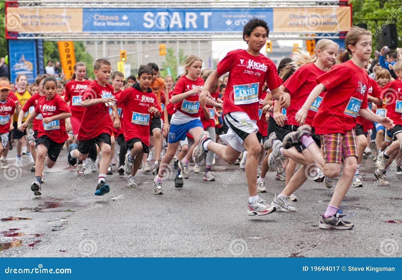 29 2011个每年加拿大孩子马拉松可以渥太华y.
