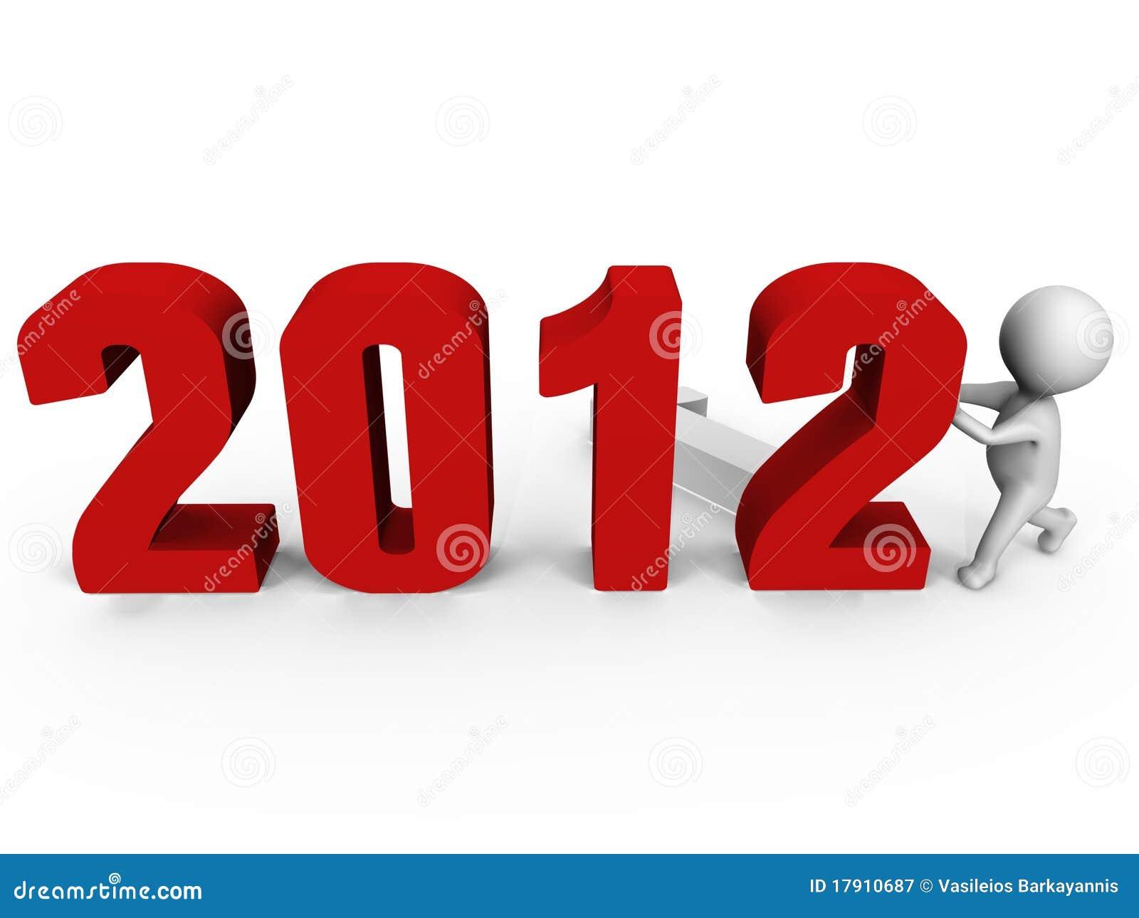 2012 3d nya nummer för datalista som im byter ut till året