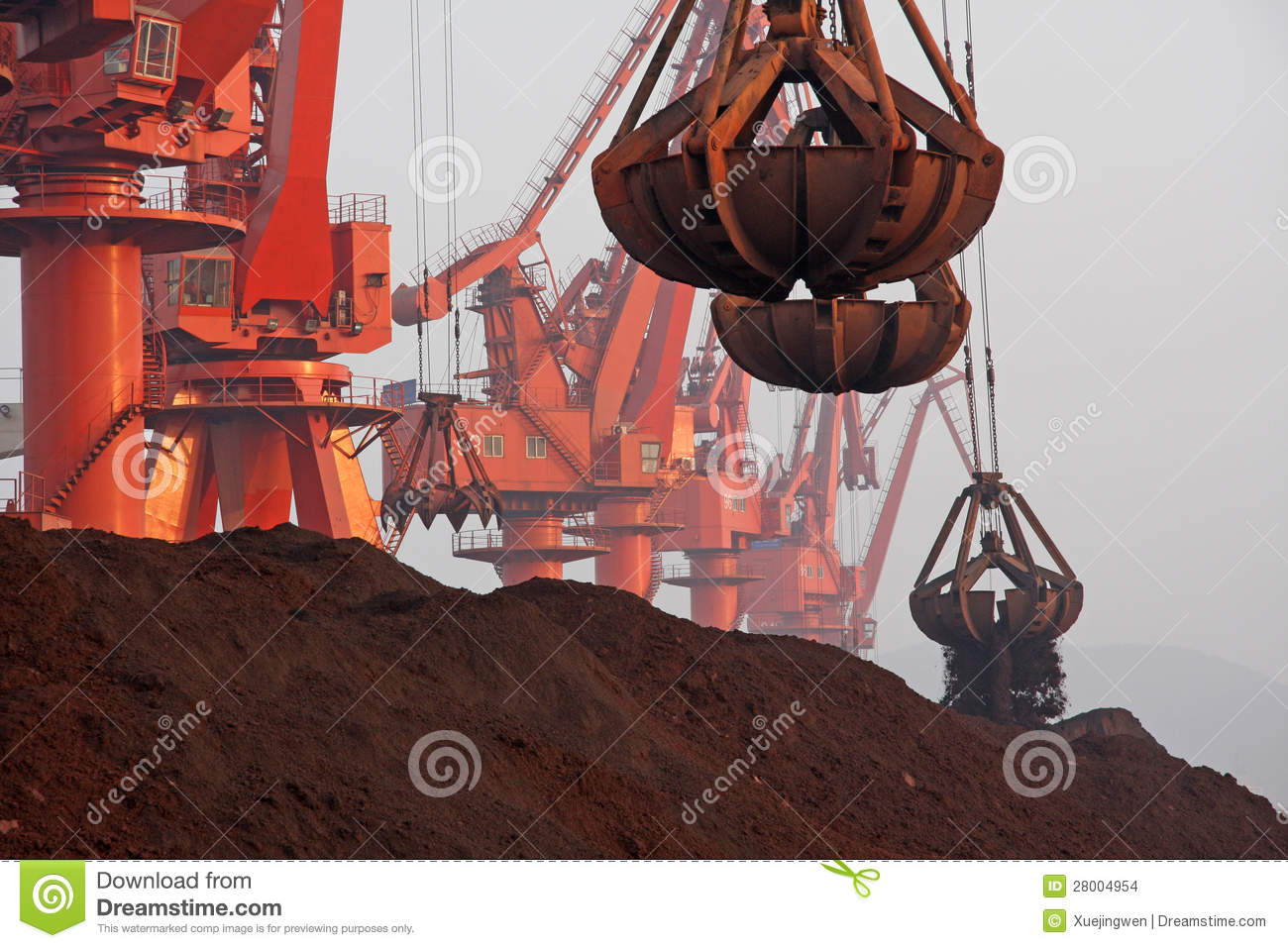 In 2012, Chinas decline in demand for iron ore