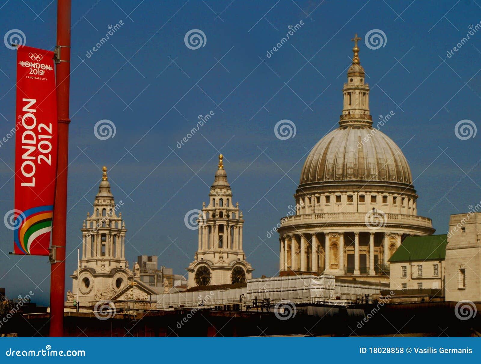 2012 chorągwianej gry London olimpijski