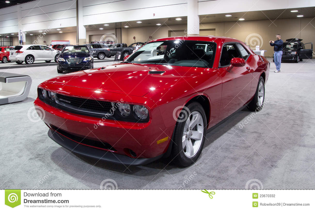 2012 Dodge Challenger Sxt Editorial Photography Image