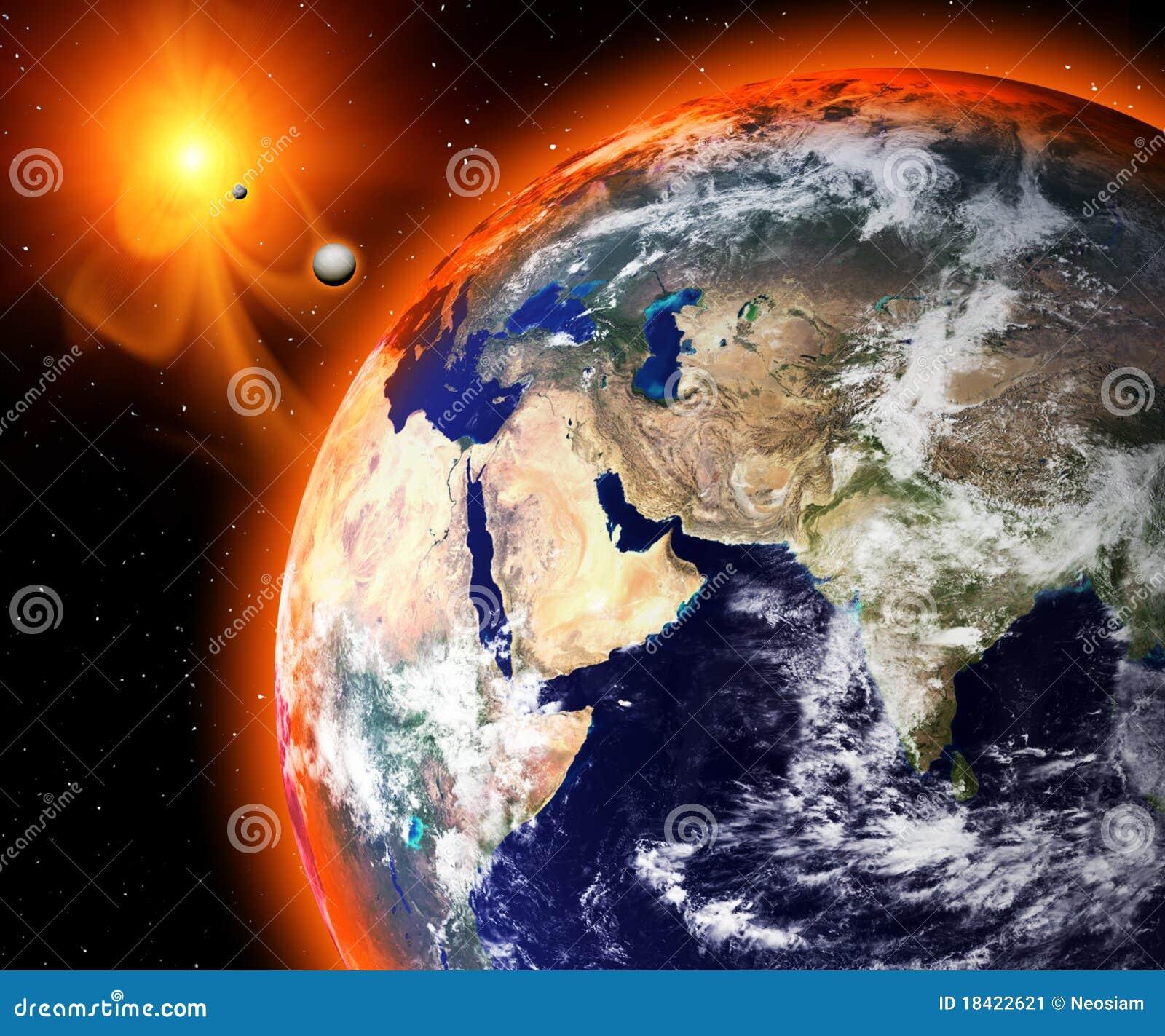 2012 het eind van de wereld stock illustratie afbeelding 18422621 - Tafelfabriek thuis van de wereld ...