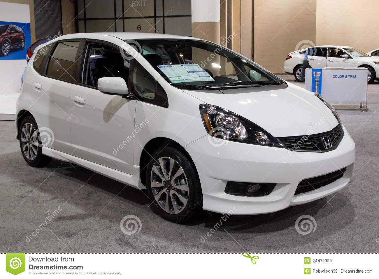 Jacksonville Car Show >> 2012 honda Fit Sport editorial stock image. Image of industry - 24471339