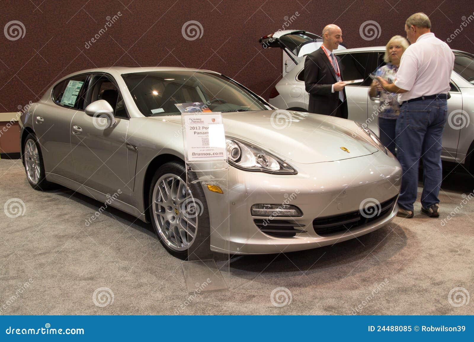 Porsche Panamera Editorial Image Image Of Front - Jacksonville car show