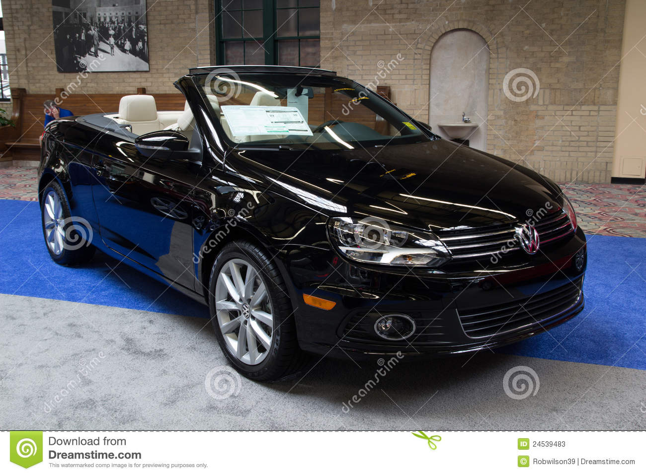VW Eos Komfort Editorial Stock Photo Image Of Volks - Eos car show