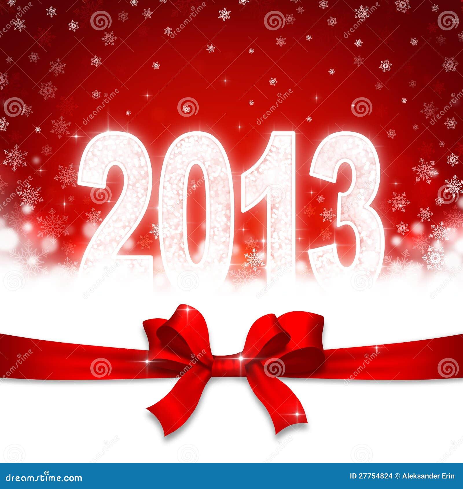 2013 ans neuf