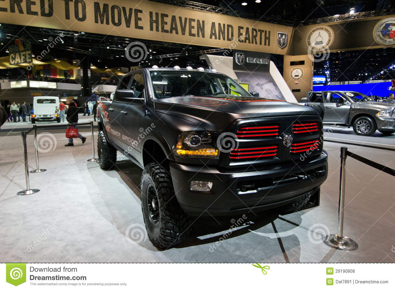 2013 dodge ram powerwagon editorial stock photo image 29190808. Cars Review. Best American Auto & Cars Review