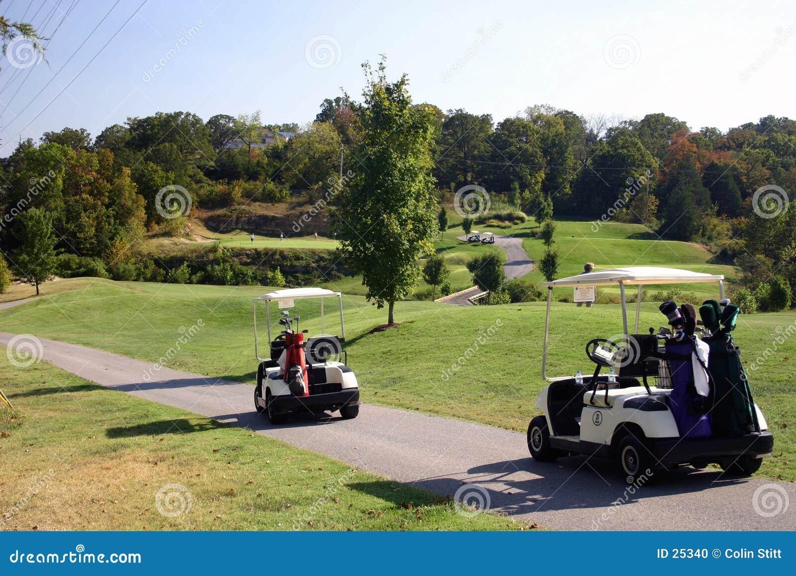 任何人打高尔夫球