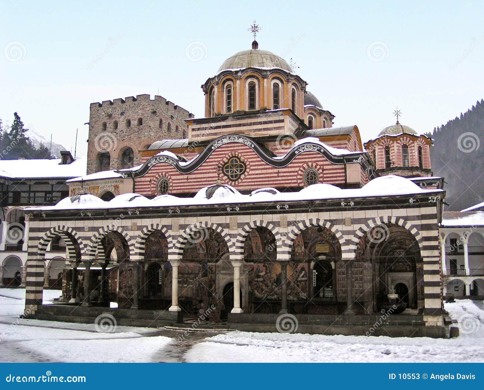 保加利亚修道院rila