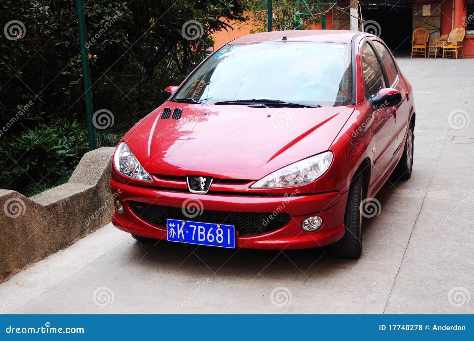 206 samochód Peugeot