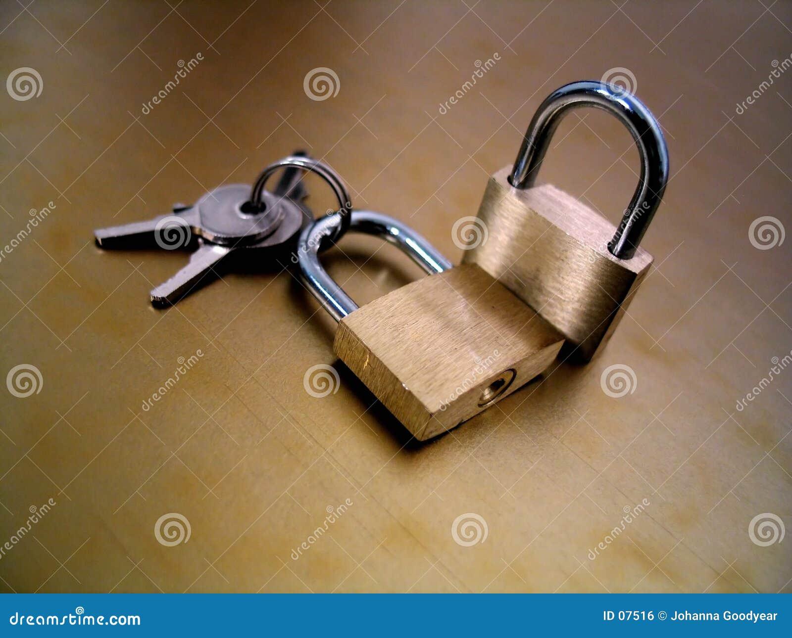 关键字锁定