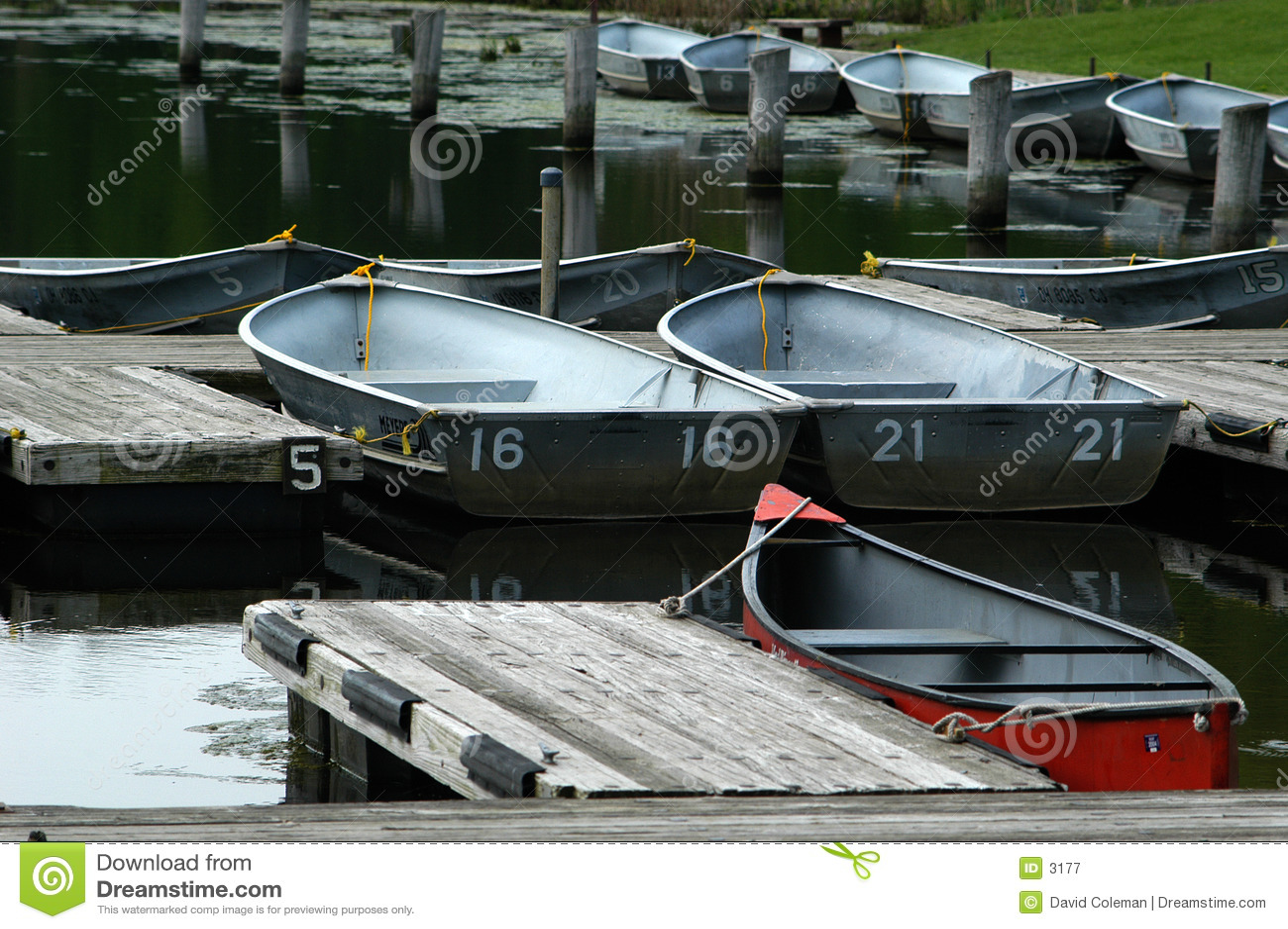 出租的小船