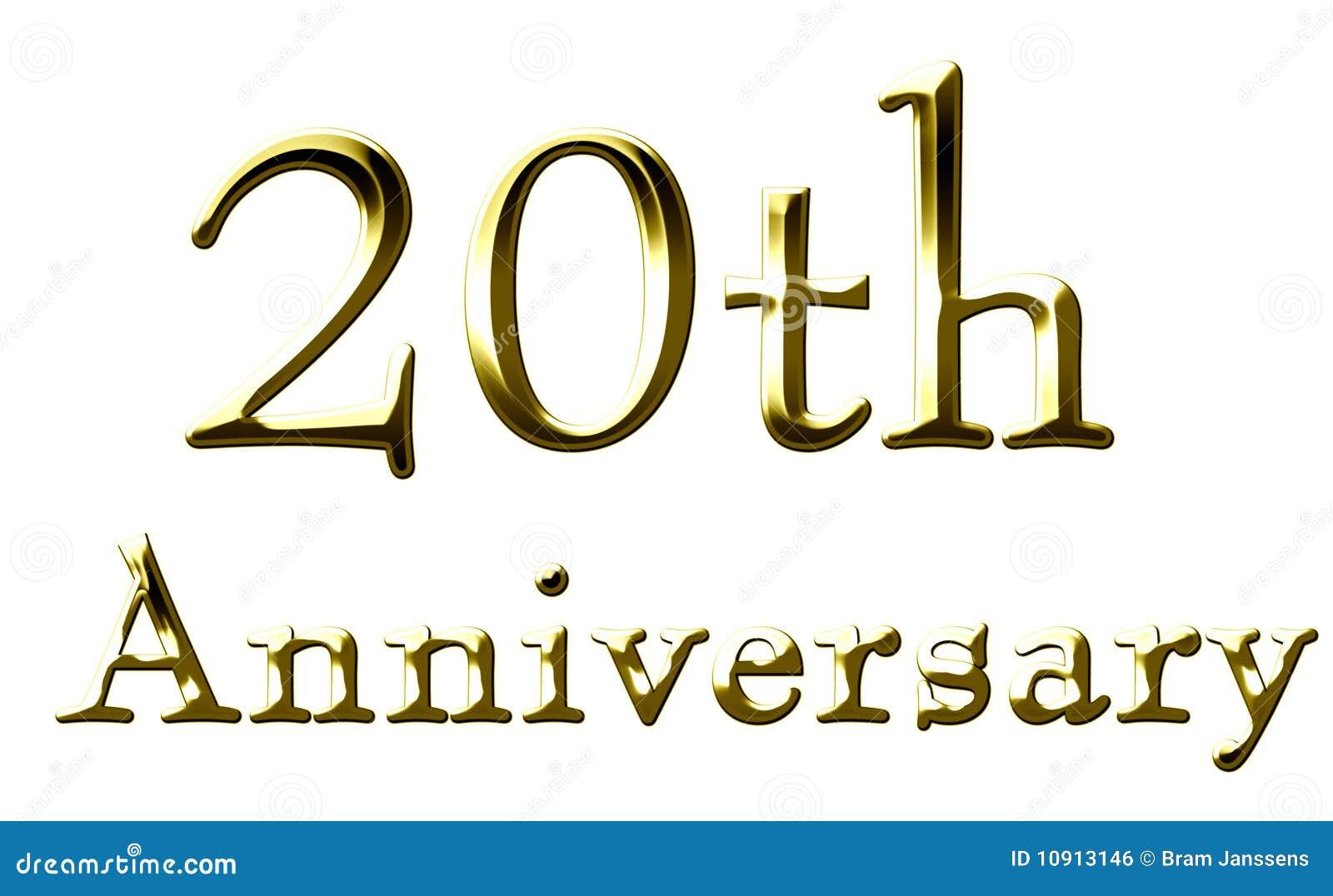 Th anniversary royalty free stock image