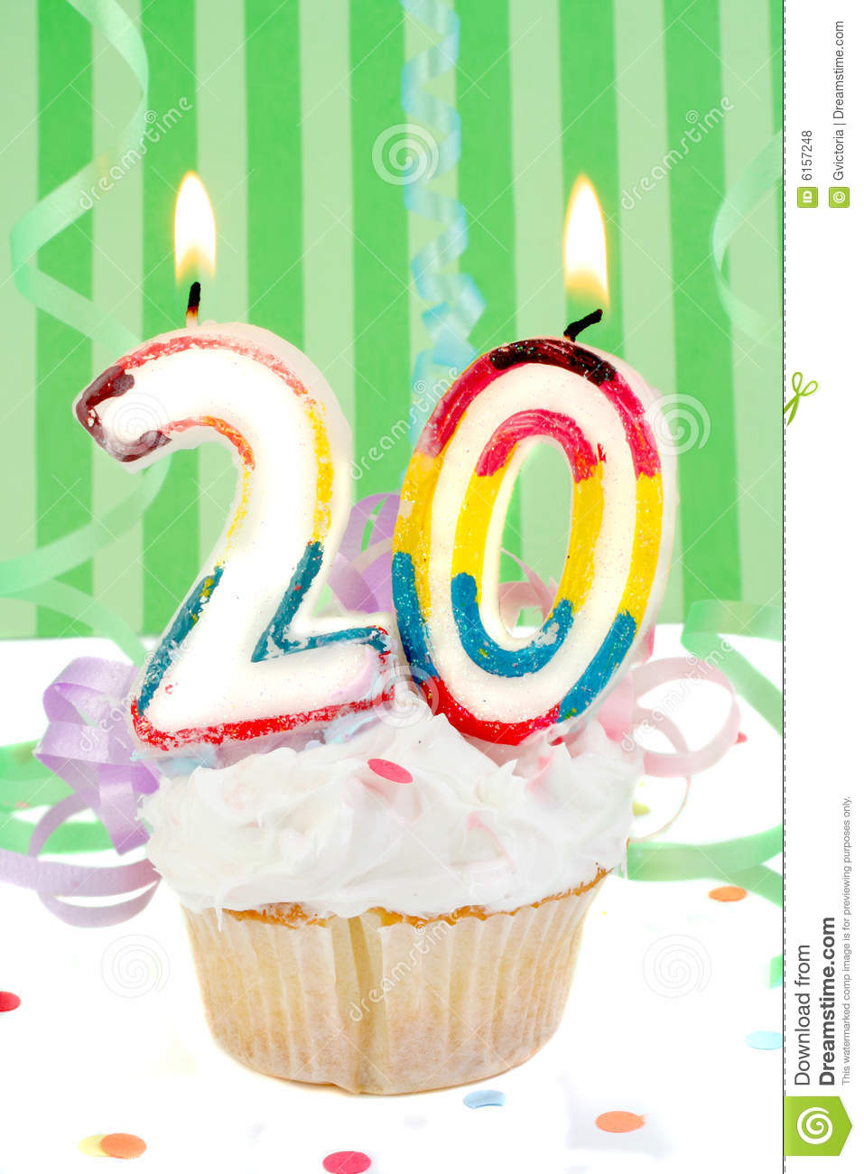 20th Birthday Stock Photo Image Of Decorations Number
