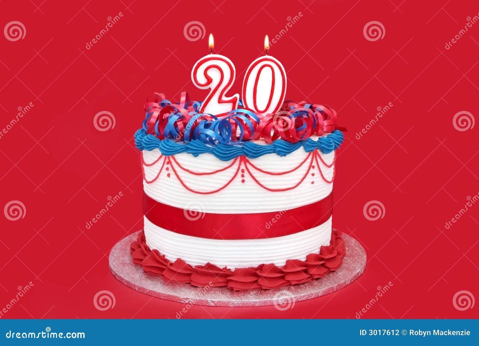 20th Cake