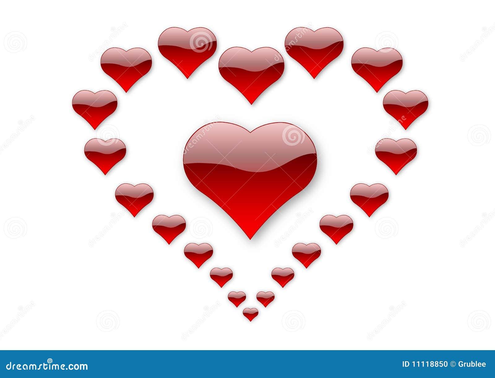 ... jpeg 82kB, 21 Corazones De Amor Foto de archivo - Imagen: 11118850