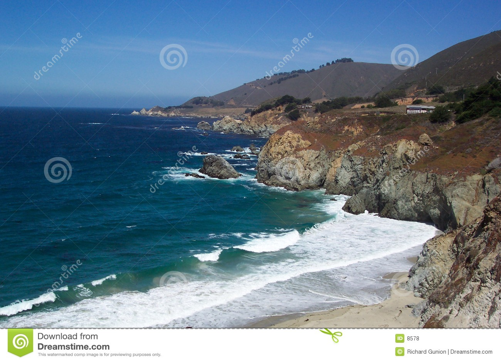 加利福尼亚海滨