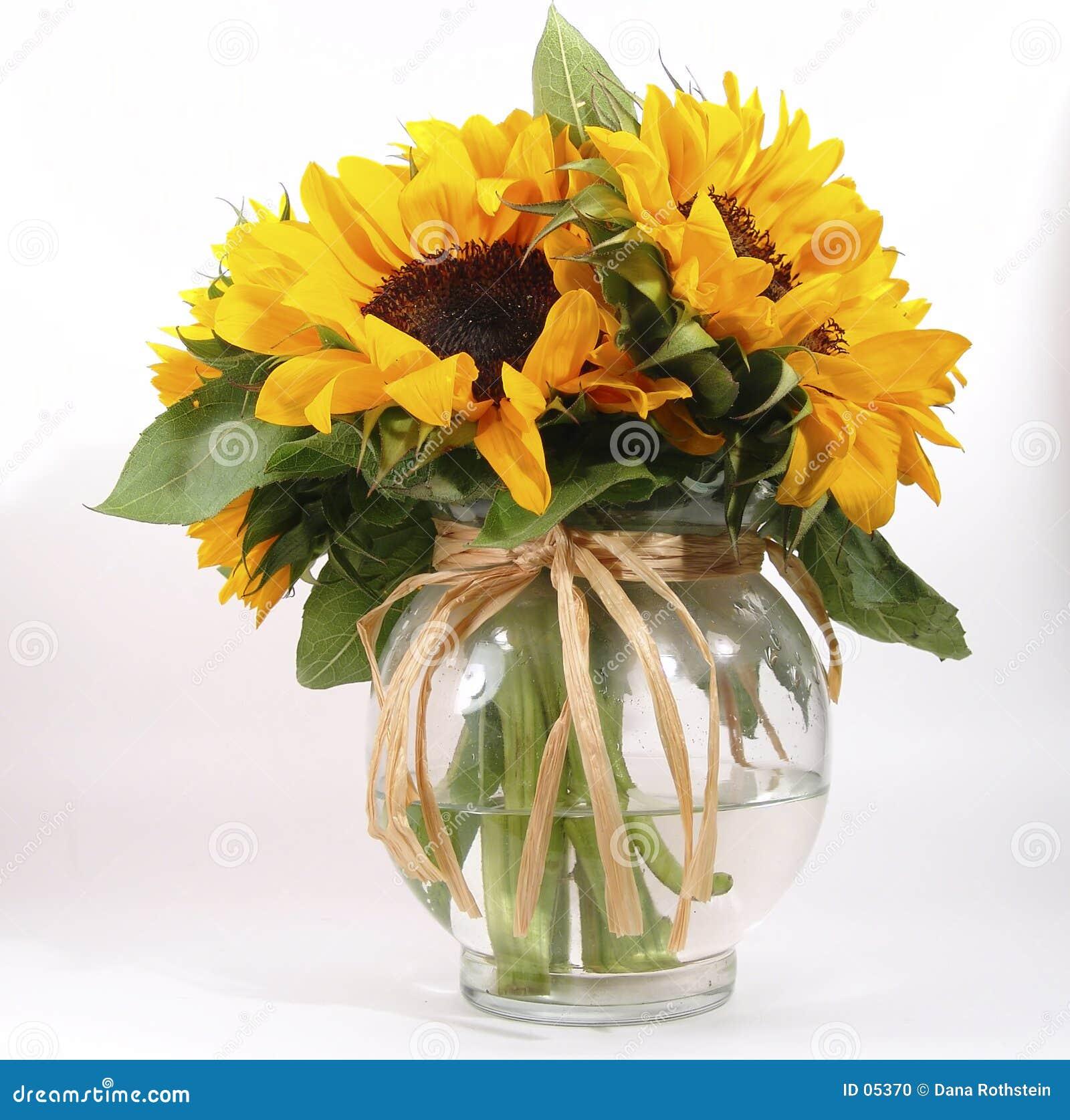 向日葵花瓶
