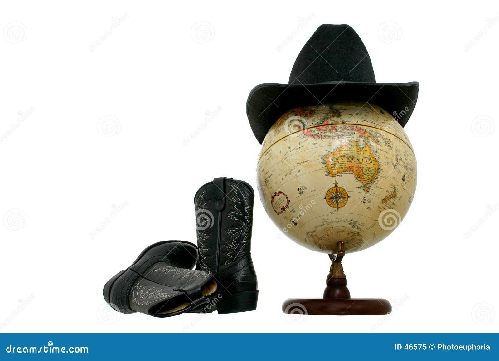 启动西部地球的帽子