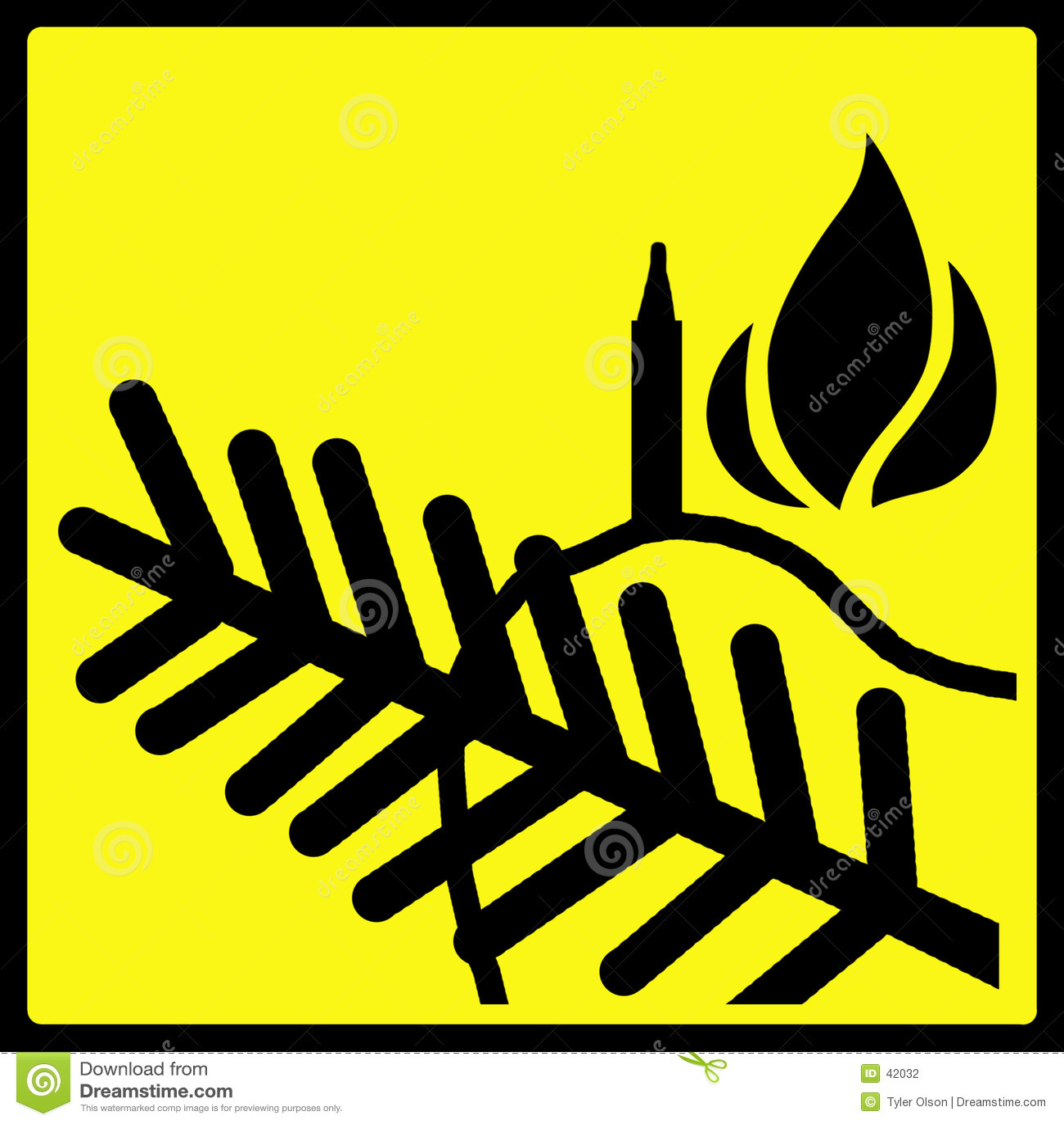 圣诞节槭叶瓶木警告