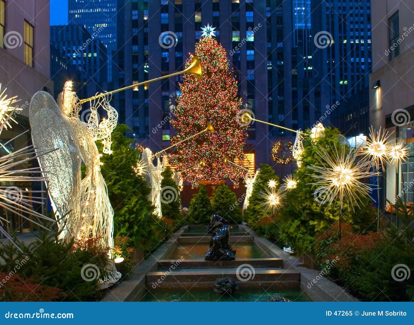 圣诞节纽约
