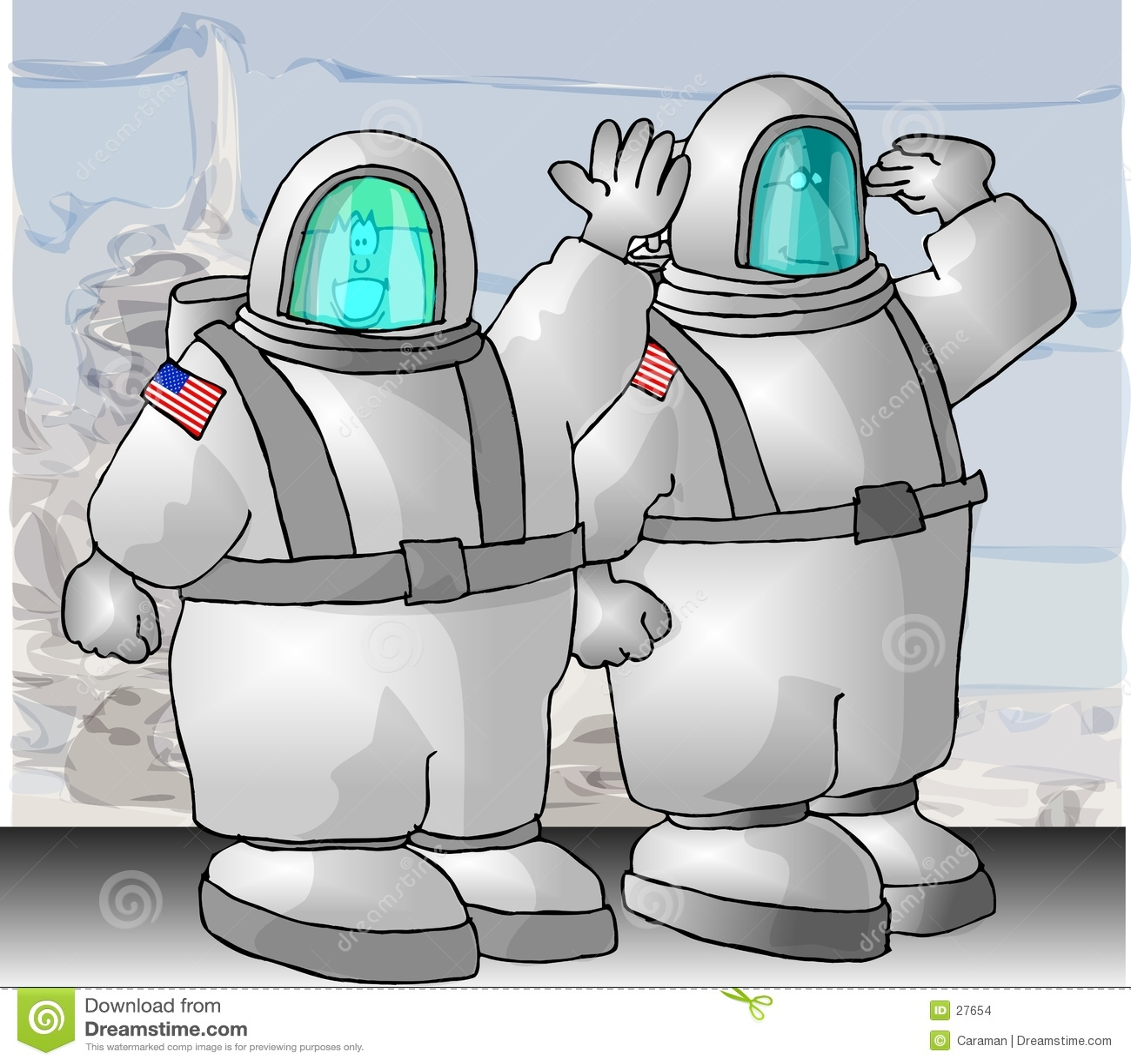 宇航员我们