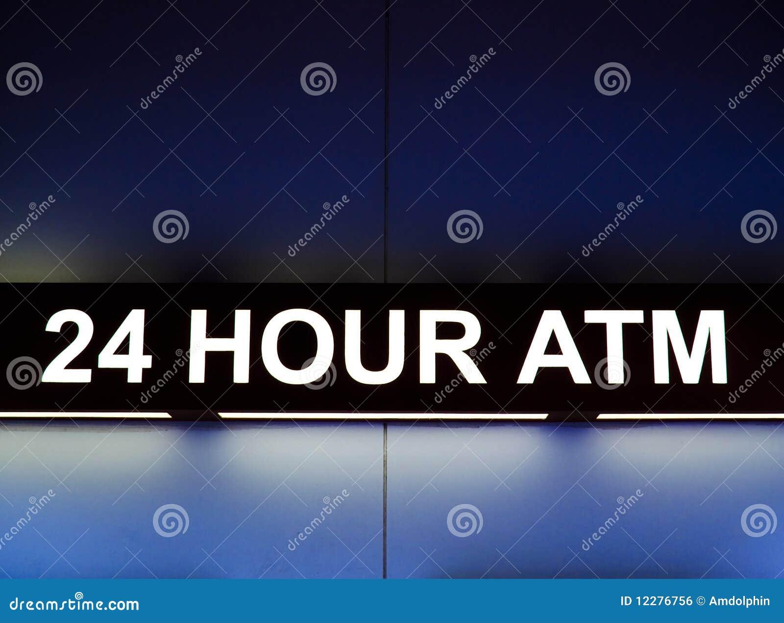 24 het teken van het uur ATM