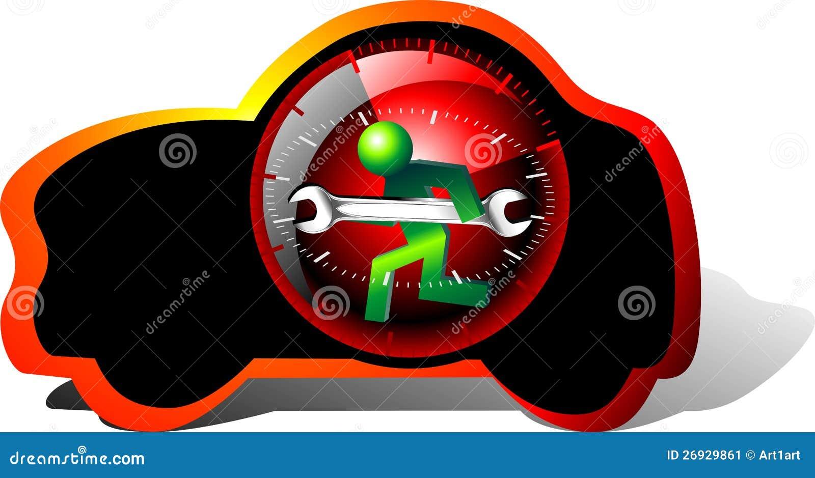 Internet Car Sales >> 24 Hour Maintenance Car Stock Image - Image: 26929861