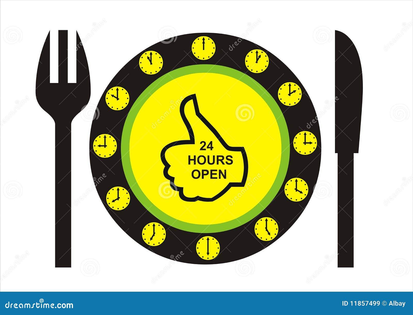 24 Hours Open Restaurant