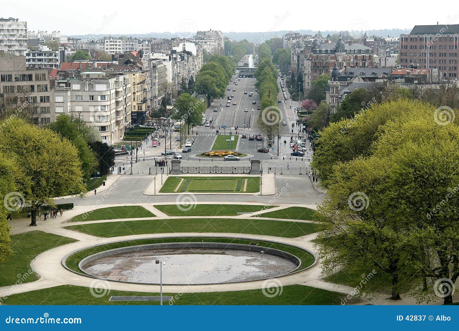 布鲁塞尔cinquantenaire du parc