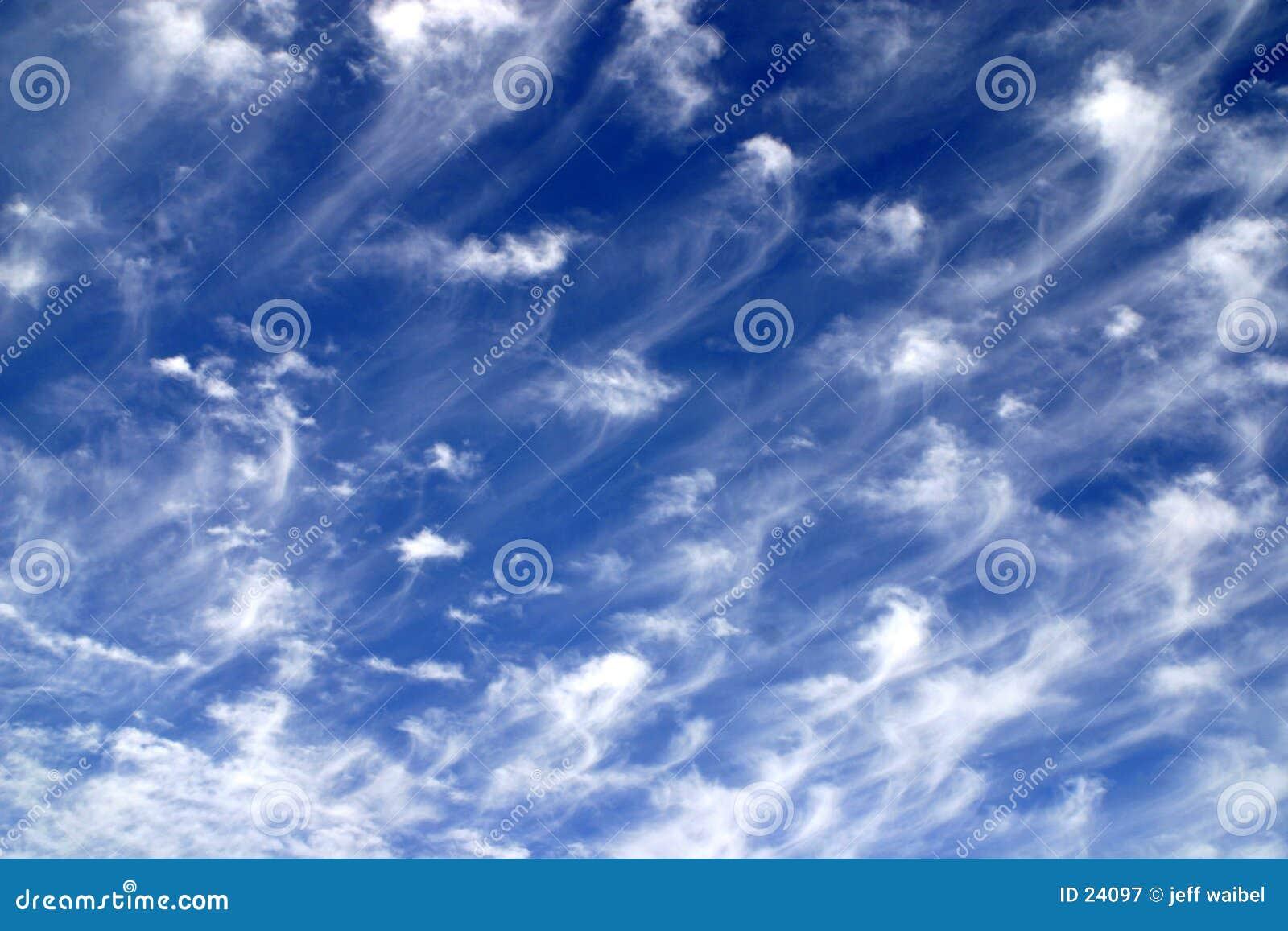惊人的天空