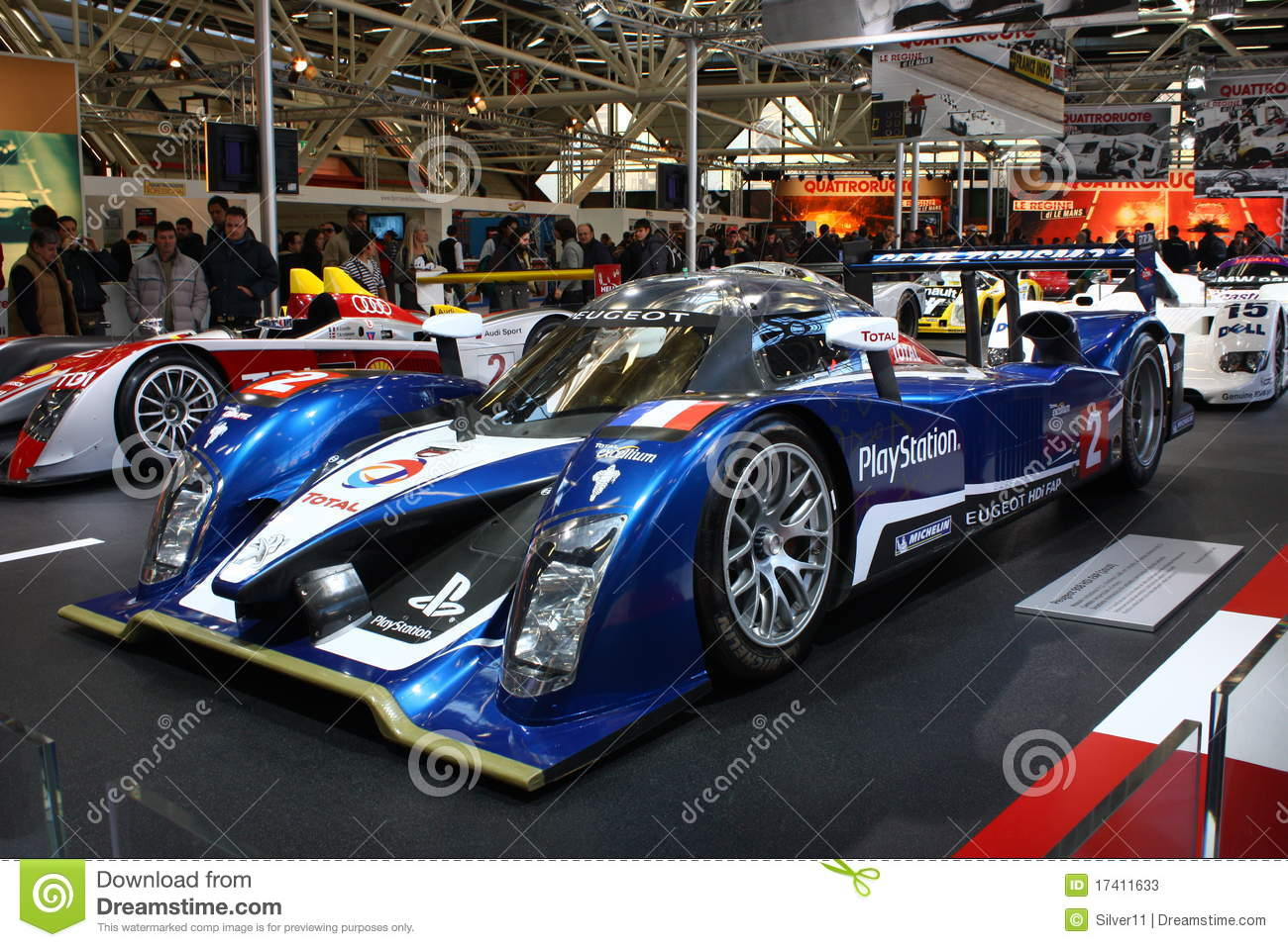 24h le mans race car peugeot 908hdi editorial stock photo image 17411633. Black Bedroom Furniture Sets. Home Design Ideas