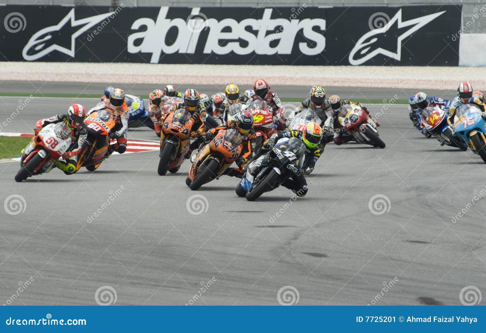 250cc race at 2008 Malaysian Motorcycle GP Sepang
