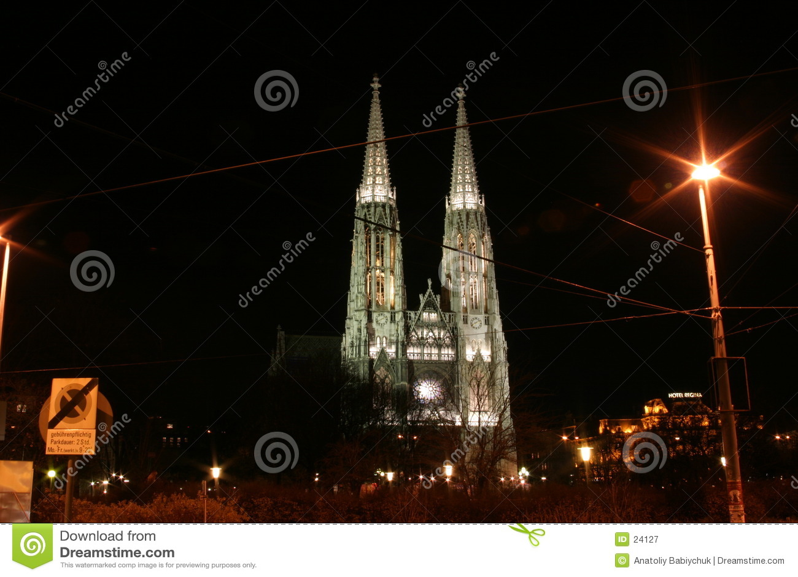 教会kirche维也纳votiv