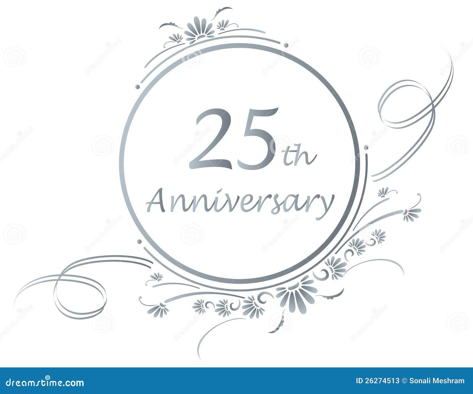 free silver wedding anniversary clipart - photo #16