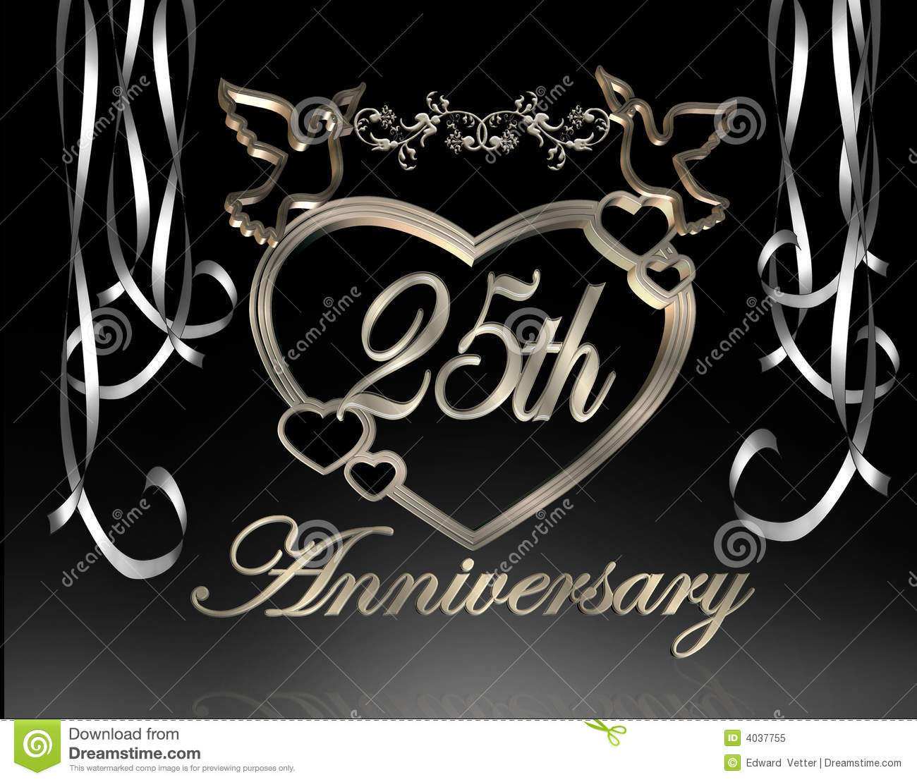25th Wedding Anniversary Background Www Imgkid Com The