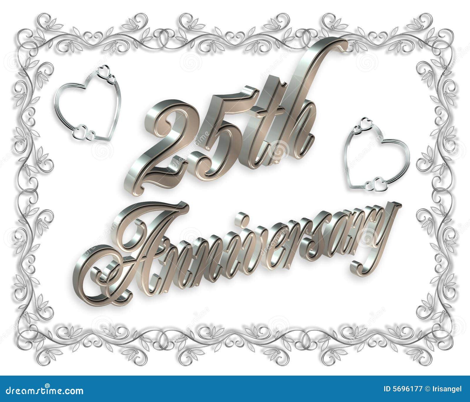 free silver wedding anniversary clipart - photo #24