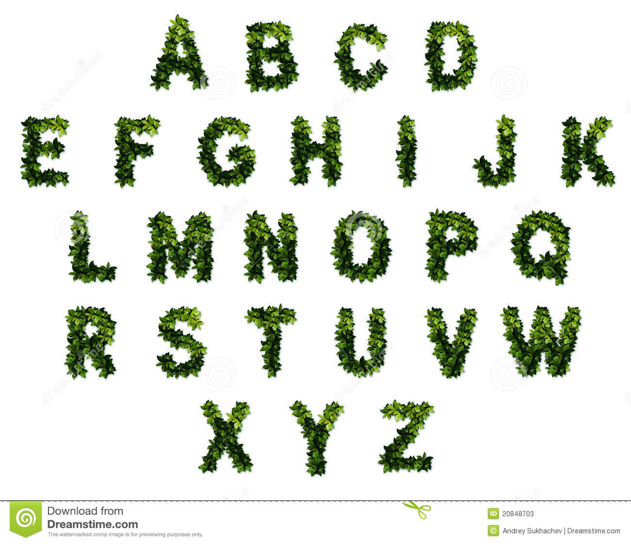 26 Letters In The Alphabet Stock Photos